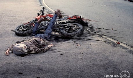 Motorcycle Speed kills