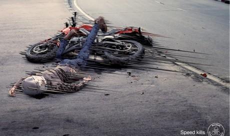 Motorcycle Speed kills